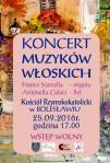 Koncert Muzyk�w W�oskich